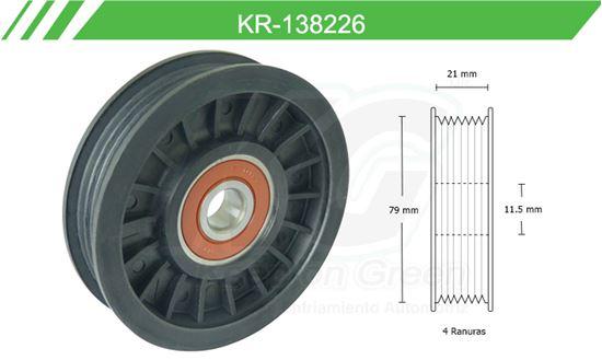 Imagen de Poleas de Accesorios y Distribución KR-138226