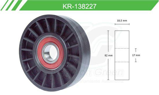 Imagen de Poleas de Accesorios y Distribución KR-138227