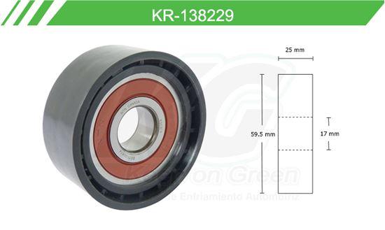 Imagen de Poleas de Accesorios y Distribución KR-138229