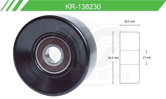 Imagen de Poleas de Accesorios y Distribución KR-138230