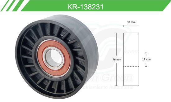 Imagen de Poleas de Accesorios y Distribución KR-138231