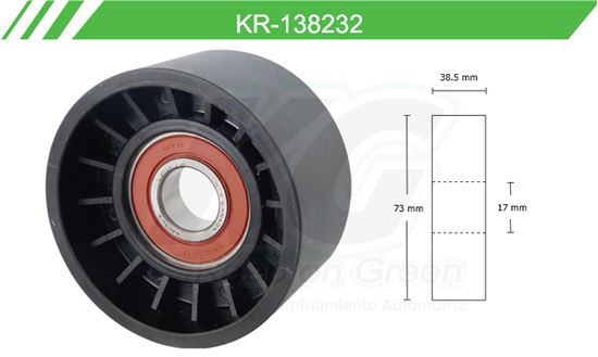 Imagen de Poleas de Accesorios y Distribución KR-138232