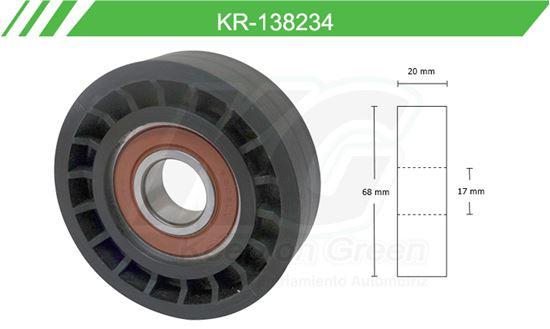 Imagen de Poleas de Accesorios y Distribución KR-138234