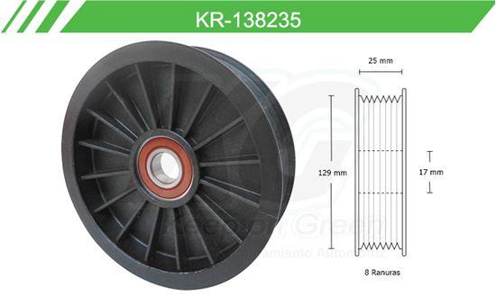 Imagen de Poleas de Accesorios y Distribución KR-138235