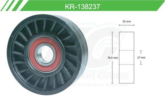 Imagen de Poleas de Accesorios y Distribución KR-138237