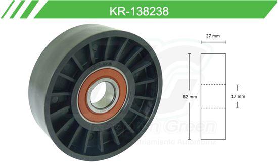 Imagen de Poleas de Accesorios y Distribución KR-138238