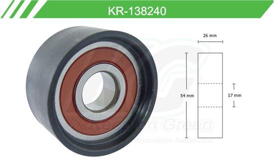 Imagen de Poleas de Accesorios y Distribución KR-138240