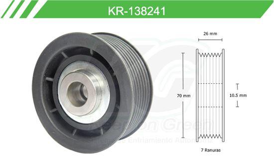 Imagen de Poleas de Accesorios y Distribución KR-138241