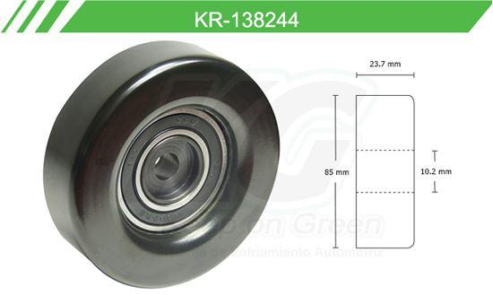 Imagen de Poleas de Accesorios y Distribución KR-138244