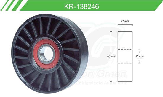 Imagen de Poleas de Accesorios y Distribución KR-138246