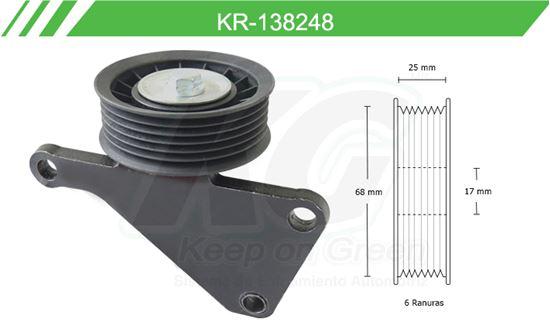 Imagen de Poleas de Accesorios y Distribución KR-138248