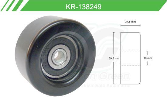 Imagen de Poleas de Accesorios y Distribución KR-138249