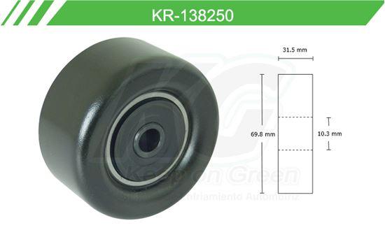 Imagen de Poleas de Accesorios y Distribución KR-138250