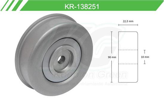 Imagen de Poleas de Accesorios y Distribución KR-138251