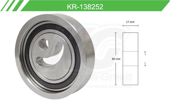 Imagen de Poleas de Accesorios y Distribución KR-138252