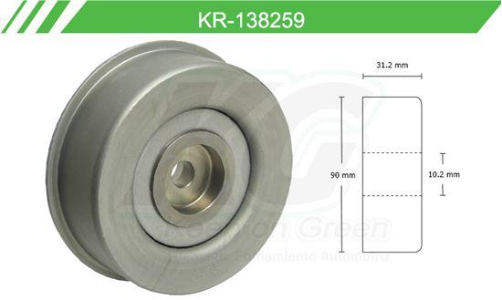 Imagen de Poleas de Accesorios y Distribución KR-138259