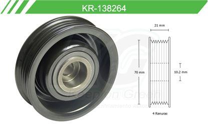 Imagen de Poleas de Accesorios y Distribución KR-138264