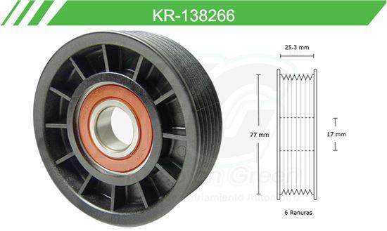 Imagen de Poleas de Accesorios y Distribución KR-138266