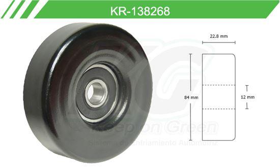 Imagen de Poleas de Accesorios y Distribución KR-138268