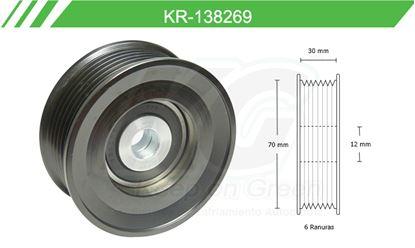 Imagen de Poleas de Accesorios y Distribución KR-138269