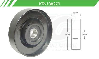 Imagen de Poleas de Accesorios y Distribución KR-138270