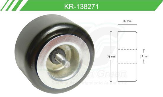 Imagen de Poleas de Accesorios y Distribución KR-138271