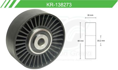 Imagen de Poleas de Accesorios y Distribución KR-138273