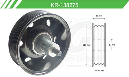 Imagen de Poleas de Accesorios y Distribución KR-138275