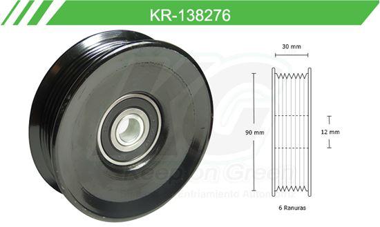 Imagen de Poleas de Accesorios y Distribución KR-138276