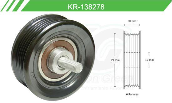 Imagen de Poleas de Accesorios y Distribución KR-138278