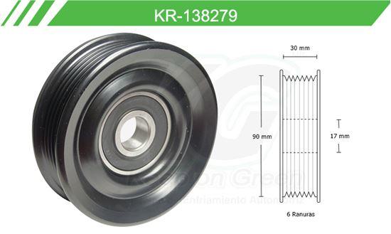 Imagen de Poleas de Accesorios y Distribución KR-138279