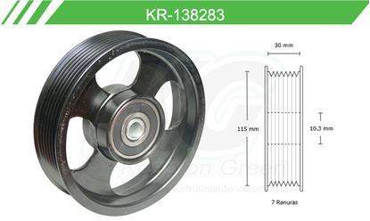 Imagen de Poleas de Accesorios y Distribución KR-138283