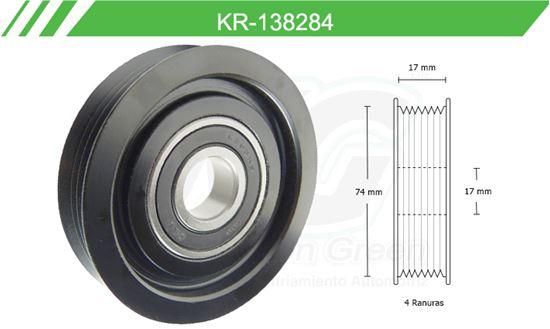 Imagen de Poleas de Accesorios y Distribución KR-138284