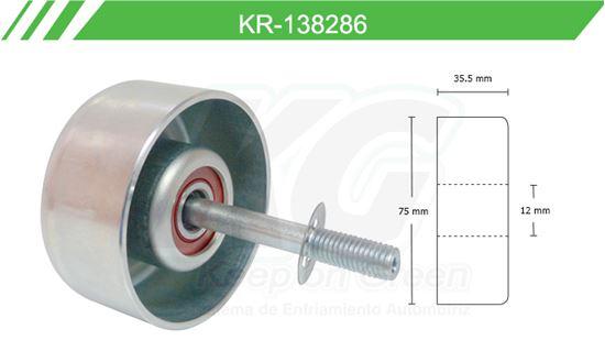 Imagen de Poleas de Accesorios y Distribución KR-138286
