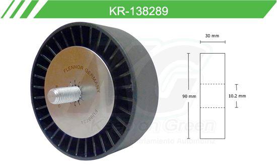Imagen de Poleas de Accesorios y Distribución KR-138289