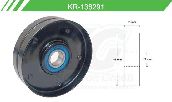 Imagen de Poleas de Accesorios y Distribución KR-138291