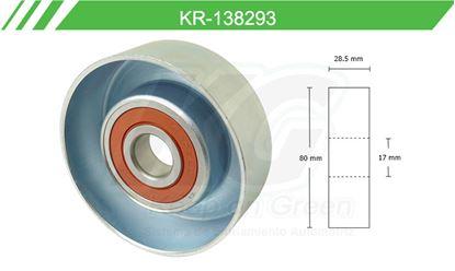 Imagen de Poleas de Accesorios y Distribución KR-138293