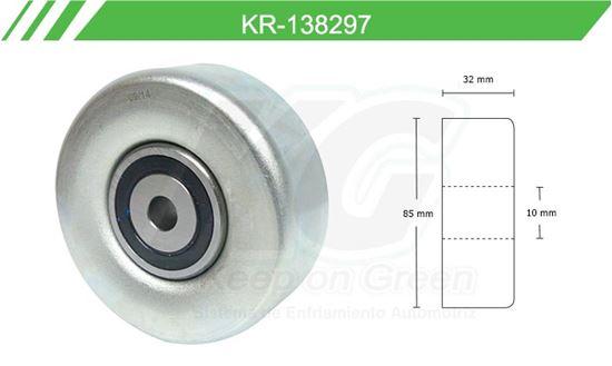 Imagen de Poleas de Accesorios y Distribución KR-138297