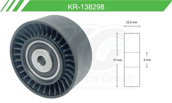 Imagen de Poleas de Accesorios y Distribución KR-138298
