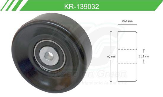 Imagen de Poleas de Accesorios y Distribución KR-139032