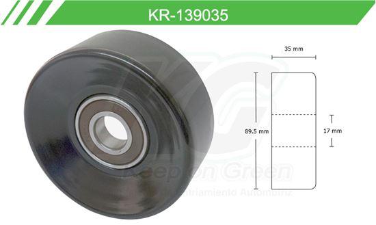 Imagen de Poleas de Accesorios y Distribución KR-139035