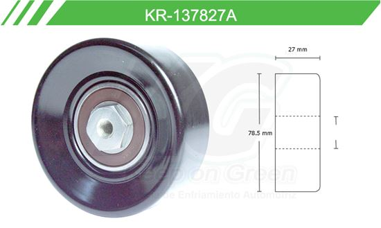 Imagen de Poleas de Accesorios y Distribución KR-137827-A